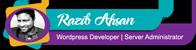 Razib Ahsan Logo